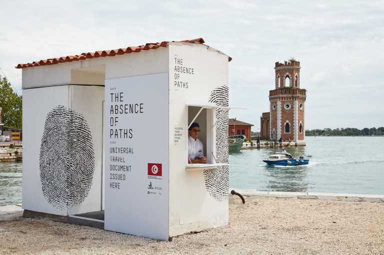 Installation view of The Tunisian Pavilion, The Absence of Paths at La Biennale di Venezia, photography by Luke Walker (10) (1)